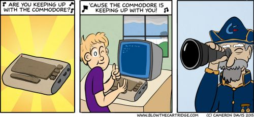 Are You Keeping Up With The Commodore?