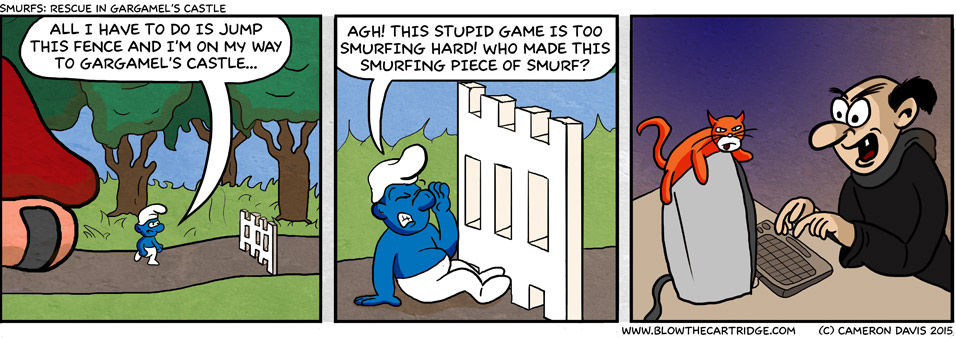 Smurfs: Rescue In Gargamels Castle